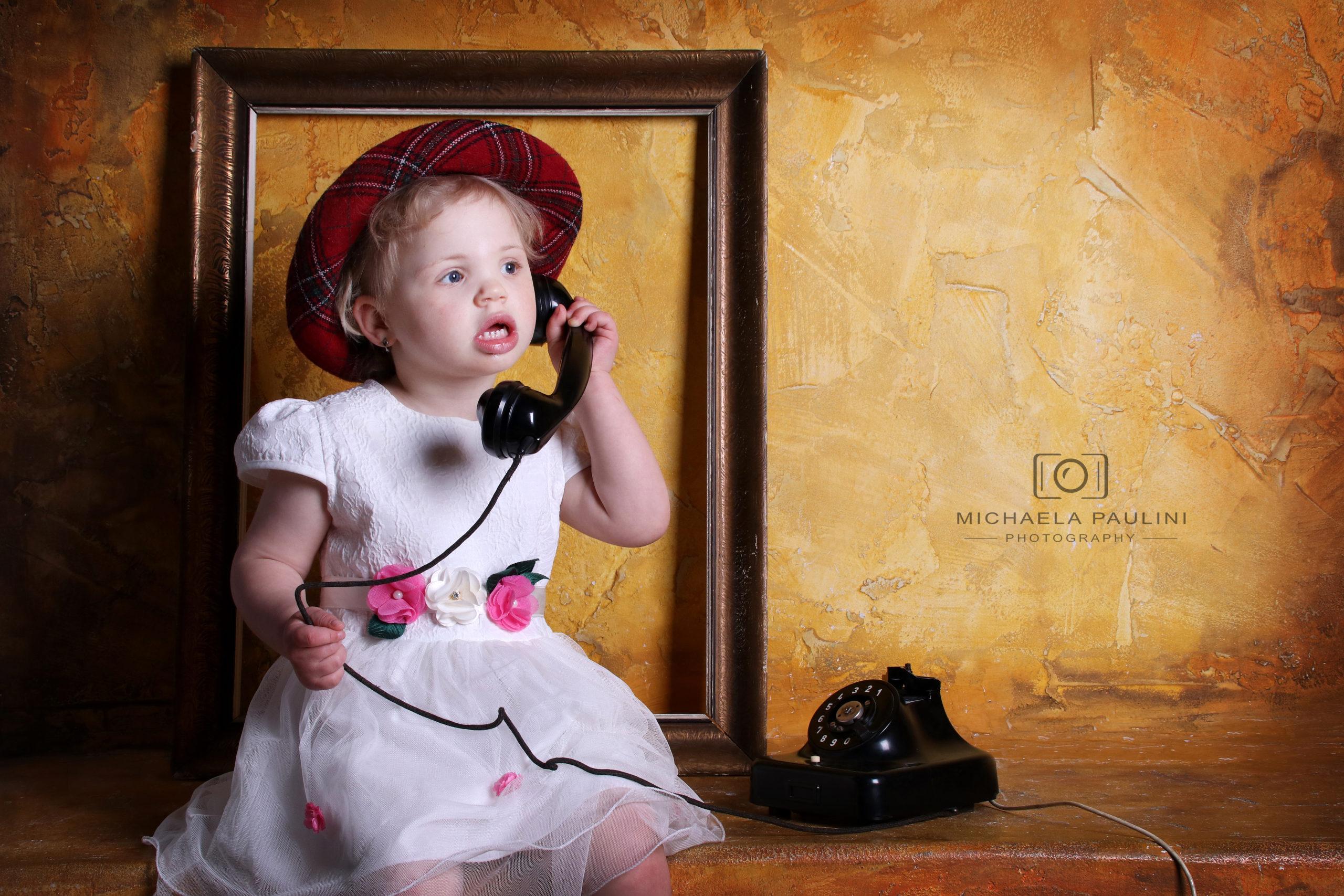 Fotografování dětí v ateliéru