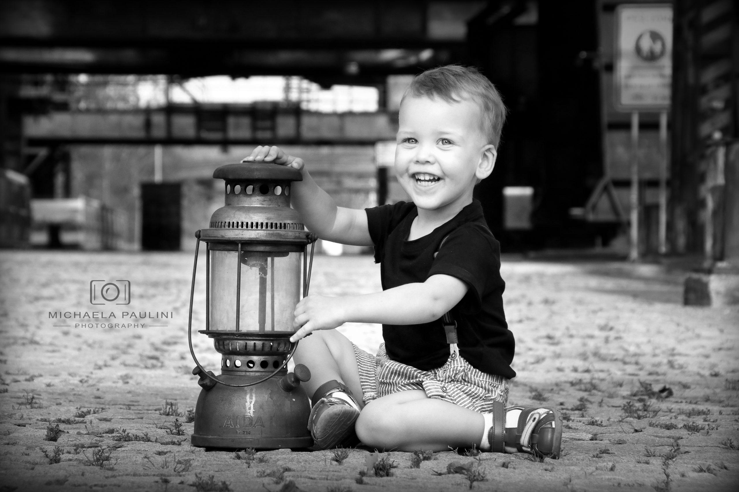 Fotografování dětí v exteriéru